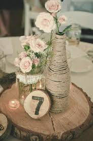 Rustic Vases For Weddings 50 Budget Friendly Rustic Real Wedding Ideas Hative