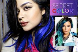 demi lovato hair extensions demi lovato secret color extensions review and unboxing