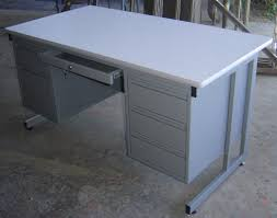 Double Pedestal Desk With Hutch by Afford Office Line Limited Workstations