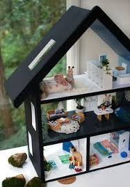 How To Make A Dollhouse Out Of A Bookcase How To Build A Dollhouse Doll Houses Dollhouses And Dolls
