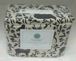 Twin Sheet Set Martha Stewart Woodland Park Flannel Twin Sheet Set