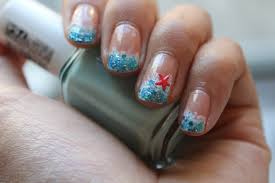 water spotted beach nails 2 ways youtube 25 beach nail art