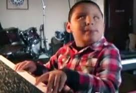 Blind Boy Plays Piano 7 Year Old Blind Prodigy Shocks Jazz World Video Ebaum U0027s World