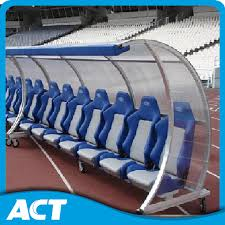 Portable Sports Bench China Deluxe Portable Team Shelter Substitute Bench With Wheels