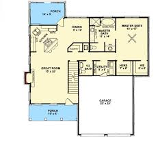 cozy porch and in law suite first floor plan maverick custom homes
