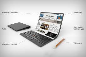 laptop design lenovo s mind bending self bending laptop yanko design