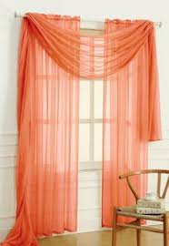 Burnt Orange Sheer Curtains Iyuego Rainbow Color Sheer Tab Top Curtains Draperies Wit Https