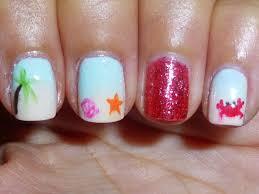 polish my pretty nails beach getaway manicure
