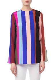 dvf blouse adrianaonline com diane furstenberg side slit blouse