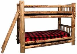Elise Bunk Bed Manufacturer Rocky Mountain Pine Log Bunk Bed Colorado Pine Log Furniture