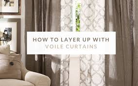 how to layer up with voile curtains the blog
