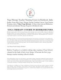 What Is Anatomy And Physiology Class Yoga Therapy Teacher Training Course In Rishikesh