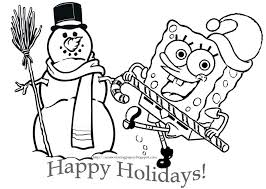 download coloring pages spongebob squarepants coloring pages