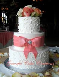 coral wedding cakes coral colored wedding cakes 28 images cassidybudge s ruffle