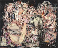 trouble in paradise u0027 cecily brown 1999 tate