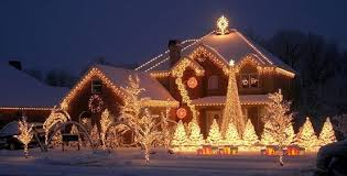 Outdoor Christmas Light Ideas A Collection Of Pinterest Outside House Christmas Lights