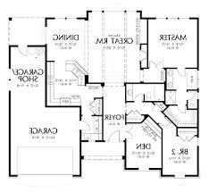 Garage House Floor Plans Astor 2 Car Garage Floor Planslarge Plans With Apartment Above