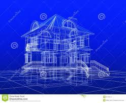 house blue print baby nursery blueprint house blueprint stock illustrations house