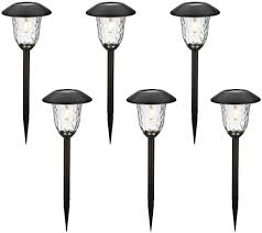 desert steel solar lights outdoor lighting outdoor living for the home qvc com