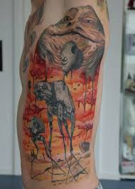 salvador dali star wars tattoo neatorama