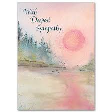 condolences card with deepest sympathy sympathy card