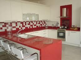 Common Foto: Balcão em Quartzo Vermelho Estelar de Top Mármores #773351  #EV52