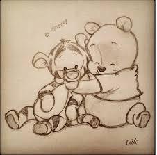 baby winnie poo cute art
