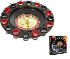 Chess Board Amazon Amazon Com Ez Drinker Shot Spinning Roulette Game Set 16 Piece