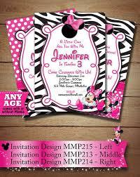 the 25 best minnie mouse birthday invitations ideas on pinterest