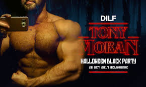 dilf halloween with tony moran u2013 itdevents u2013 concert u0026 event promoters