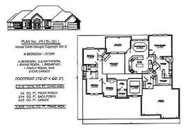 4 bedroom 1 story house plans featured house plans 4 bed room 1 and 2 story house plans