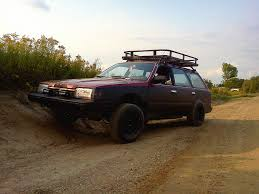 rally subaru lifted 1992 subaru loyale 4x4 build continuous great lakes 4x4 the