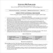 Executive Resumes Samples Free by Free Manager Resume Resume Examples Restaurant Manager Resume