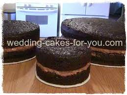 moist cake recipe and filling for a fondant cake
