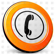 hotline support phone icon vector clipart image 70458 u2013 rfclipart
