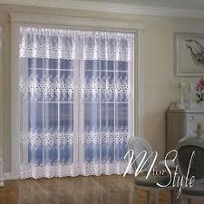 Patio Door Net Curtains Window Curtain Panels Mforstyle