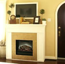 gas fireplace installed gorgeous mantle ideas with tv hearth cover