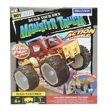 monster truck toys videos amazon com boy craft monster truck by horizon group usa toys u0026 games