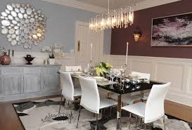 Contemporary Chandelier For Dining Room Decorative Wall Mirror And Modern Chandelier For Dining Room