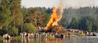 midsummer is one of the celebrations in finland