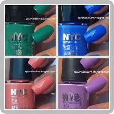 365 days of nail art nyc city samba summer color collection
