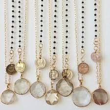gold quartz necklace images 45 best religious jewelry images blouses jpg