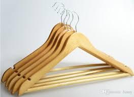 2018 high class durable wood hangers 44 5 22 5 1 2cm wooden hanger
