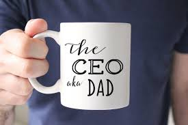 Gift For Dad by Ceo Aka Dad Coffee Mug Gift For Dad Fathers Day Gift The Love Mugs