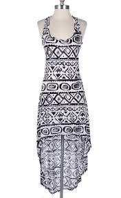 tribal dress the tribal high low dress the vixen apparelthe vixen apparel