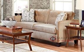 Queen Sleeper Sofa by Customize And Personalize Bristol Queen Fabric Sofa By Savvy