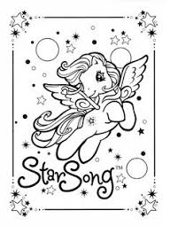 pony coloring pages rainbow ponyland colour