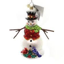 christopher radko snowman ornaments official radko starlight