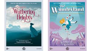 Travel Posters images Classic novels turned into travel posters visit 39 wuthering jpg