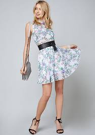 print dress palena print dress more flower to you bebe